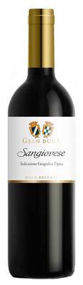 Вино красное сухое «Gran Duca Sangiovese» 2016 г. с защищенным географическим указанием