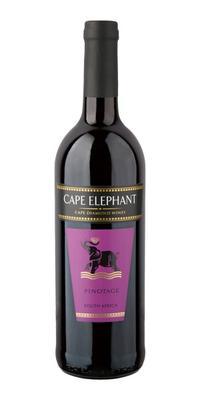 Вино красное сухое «Cape Elephant Pinotage»