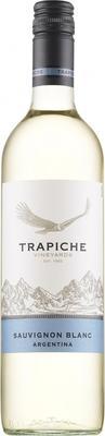 Вино белое полусухое «Trapiche Sauvignon Blanc» 2014 г.