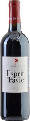 Вино красное сухое «Esprit de Pavie Bordeaux» 2008 г.
