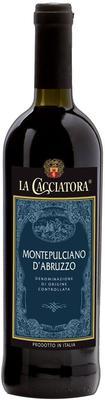 Вино красное полусухое «La Cacciatora Montepulciano d'Abruzzo » 2014 г.