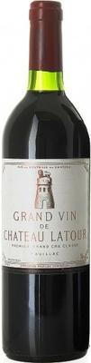 Вино красное сухое «Chateau Latour Pauillac 1-er Grand Cru Classe» 2004 г.