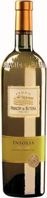 Вино белое сухое «Principi di Butera Insolia Sicilia» 2014 г.