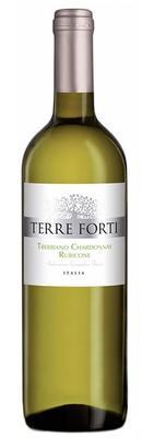 Вино белое полусухое «Terre Forti Trebbiano Chardonnay»