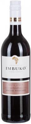 Вино красное полусладкое «Imbuko Iswithi Pinotage» 2013 г.