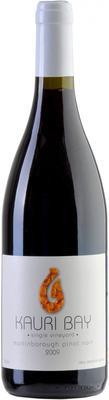 Вино красное сухое «Kauri Bay Pinot Noir» 2009 г.