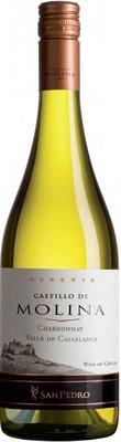 Вино белое сухое «Castillo de Molina Chardonnay Reserva» 2012 г.