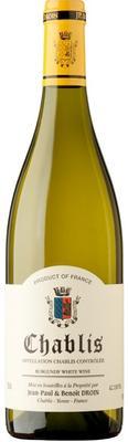 Вино белое сухое «Jean-Paul & Benoit Droin Chablis» 2014 г.