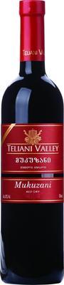 Вино красное сухое  «Teliani Valley Mukuzani»