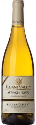 Вино белое полусладкое  «Alazani Valley, 0.75 л»