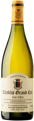Вино белое сухое «Jean-Paul & Benoit Droin Chablis Grand Cru Les Clos» 2014 г.