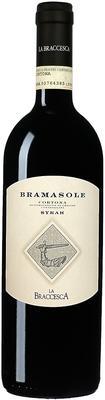 Вино красное сухое «La Braccesca Bramasole Cortona» 2010 г.