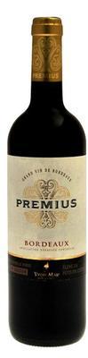 Вино красное сухое  «Premius Bordeaux Rouge»