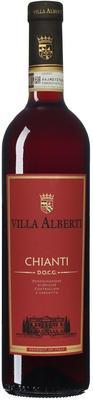 Вино красное сухое «Chianti Villa Alberti » 2015 г.
