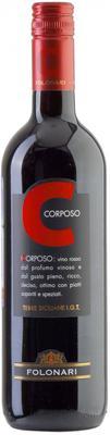 Вино красное полусухое «Folonari Corposo Terre Siciliane» 2012 г.