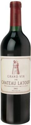 Вино красное сухое «Chateau Latour Pauillac 1-er Grand Cru Classe» 2002 г.
