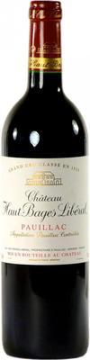Вино красное сухое «Chateau Haut-Bages Liberal Grand Cru Classe Pauillac» 2006 г.
