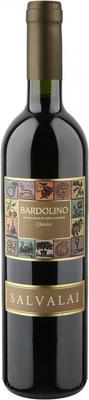 Вино красное сухое «Cantine Salvalai Bardolino Classico» 2014 г.