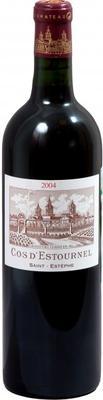Вино красное сухое «Chateau Cos d'Estournel Saint Estephe » 2004 г.
