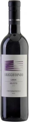 Вино красное сухое «Fontanafredda Briccotondo Dolcetto Langhe» 2012 г.