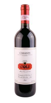 Вино красное сухое «Coli Chianti» 2013 г.