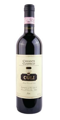 Вино красное сухое «Coli Chianti Classico» 2013 г.