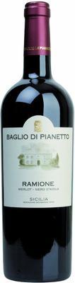 Вино красное сухое «Ramione Merlot/Nero d`Avola» 2011 г.