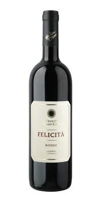 Вино красное сухое «Al Bano Carrisi Felicita Rosso» 2010 г.