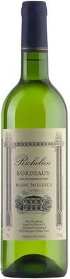 Вино белое полусладкое «Richelieu Blanc Moelleux Bordeaux» 2013 г.
