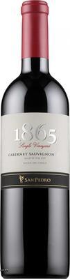 Вино красное сухое «San Pedro 1865 Single Vineyard  Cabernet Sauvignon » 2012 г.