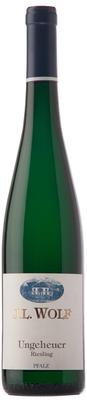 Вино белое полусухое «Wolf Forster Ungeheuer Spaetlese Riesling Pfalz QMP» 2008 г.
