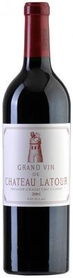 Вино красное сухое «Chateau Latour Pauillac 1-er Grand Cru Classe» 2001 г.