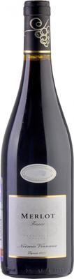 Вино красное сухое «Noemie Vernaux Merlot» 2012 г.
