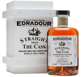 Виски шотландский  «EDRADOUR Straight from The Cask Barolo cask finish 2002»