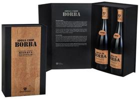 Набор из 2 бутылок красного сухого вина «Adega de Borba Reservа» 2008 г., в подарочной упаковке