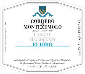 Вино белое полусухое «Langhe Chardonnay Elioro» 2013 г.