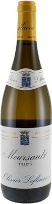 Вино белое сухое «Meursault Les Tillets» 2011 г.