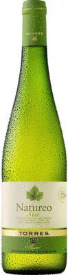 Вино безалкогольное белое полусладкое  «Natureo» 2014 г.