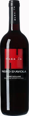 Вино красное сухое «Nadaria Nero d'Avola Terre Siciliane» 2014 г.