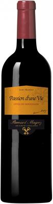 Вино красное сухое  «La Passion d'une Vie» 2012 г.