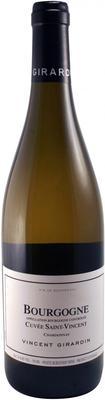 Вино белое сухое «Vincent Girardin Bourgogne Chardonnay Cuvee Saint-Vincent» 2012 г.
