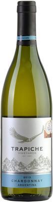 Вино белое сухое «Trapiche Vineyards Chardonnay» 2013 г.