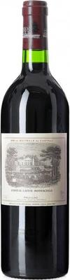 Вино красное сухое «Chateau Lafite Rothschild Pauillac 1-er Grand Cru» 1997 г.