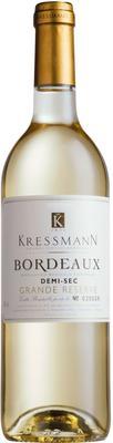 Вино белое полусухое «Kressmann Grande Reserve Bordeaux» 2012 г.