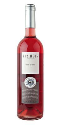Вино розовое сухое «Pirineos Seleccion Merlot-Cabernet Rose» 2013 г.