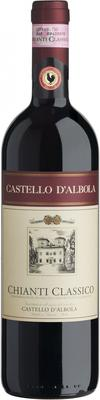 Вино красное сухое «Castello d'Albola Chianti Classico»