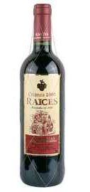 Вино красное сухое «Raices Crianza» 2005 г.