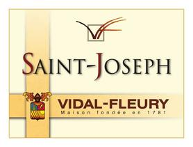 Вино красное сухое «Vidal-Fleury Saint-Joseph rouge» 2010 г.
