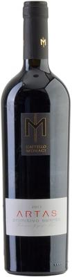 Вино красное полусухое «Castello Monaci Artas Primitivo Salento» 2011 г.