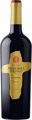 Вино красное сухое «Misiones de Rengo Carmenere Reserva Rapel Valley» 2012 г.